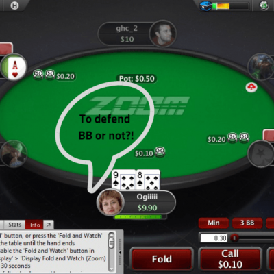 Defending Your Big Blind in Poker