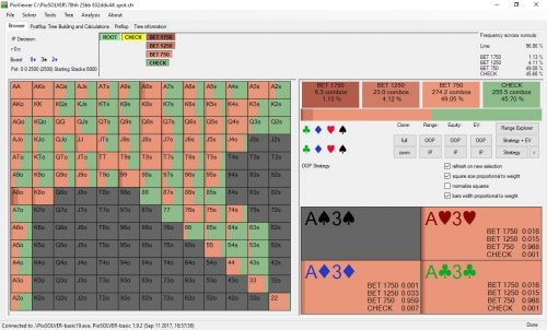 Poker software: PIO Solver