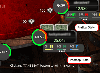 Visual Opponent Feedback Feature - Holdem Manager 3