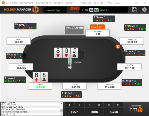 Holdem Manager 3 Replayer